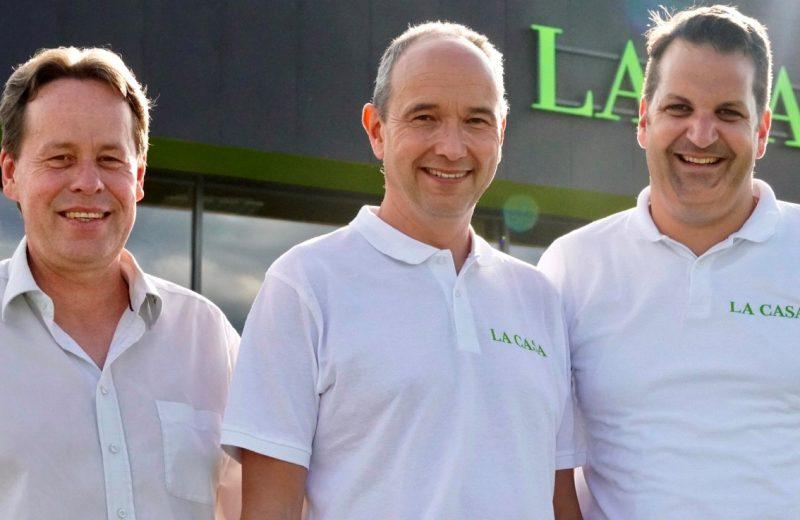 Siegfried Pitzl, Lars Schellheimer, Matthias Brack, die Initiatoren der La Casa Idee